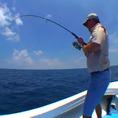 Ловля поппером в океане - Коста-Рика