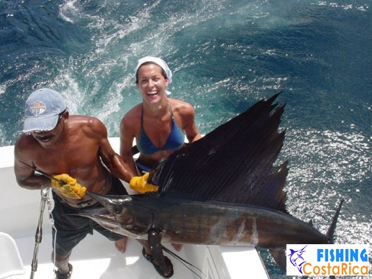 Рыбалка на океане - Коста-Рика 1