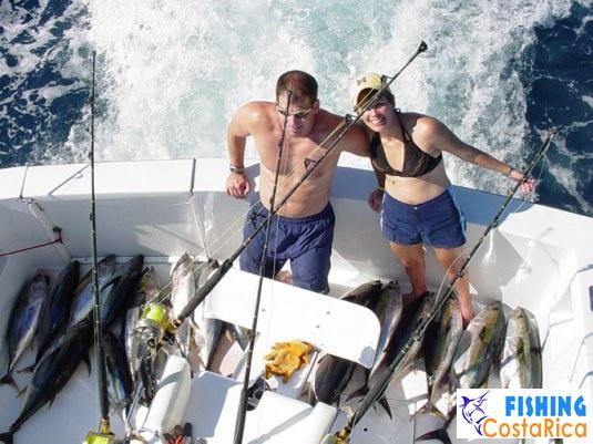 Желтоперые тунцы - отличный улов отличного дня