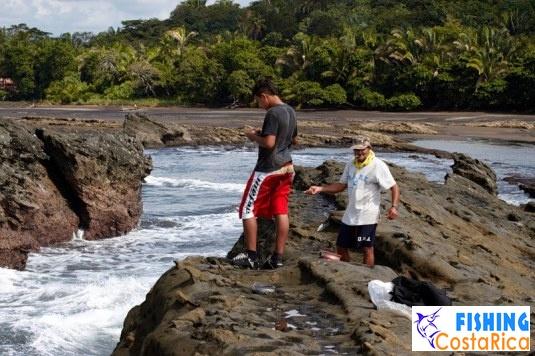 Костариканские рыбаки